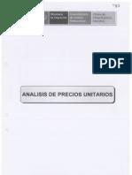 09 Analisis de Precios Unitarios Estructuras