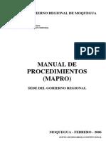 Mapro Gr Moquegua