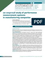 An Empirical Study of Performance