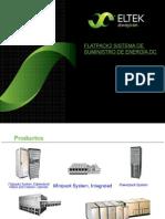 Sistema de Suministro de Energía Dc Flatpack 2