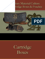 Military - Arms & Accoutrements - British Cartridge Boxes & Pouches