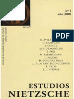Estudios Nietzsche 1