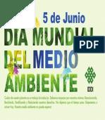 Arte IDDI para Prensa Dia Mundial Del Medio Ambiente