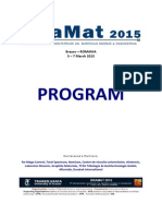 Program Bramat2015