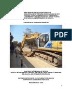 8. Informe Mensual No 08 de Interventoria - Marzo 2014