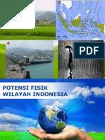 potensi fisik wilayah Indonesia