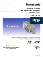 Dmc-lx7 en Advanced