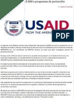USAID dona RD$16.8 MM a programas de protección Ambiental