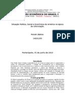 História Econômica Do Brasil Prado Junior