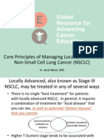 Core Principles of Managing Locally Advanced NSCLC