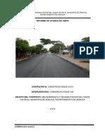 Informe de Obra 2013