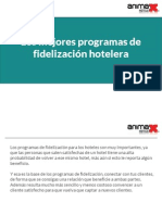 Los mejores programas de fidelización hotelera