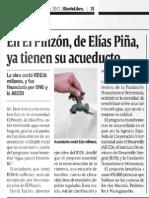 En el Pinzón, de Elías Piña ya tienen su acueducto