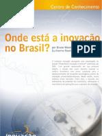 Onde esta a inovacao no Brasil-2007