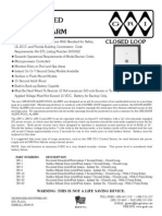 GRI 289-1 Data Sheet