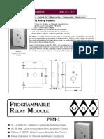 GRI PRM-1 Data Sheet
