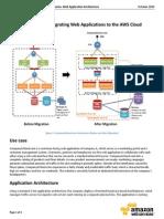 CloudMigration Scenario Wep App