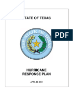 Texas Hurricane Response Plan