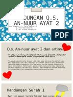 Kandungan Q.S. Surah an-Nuur Ayat 2