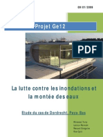 Lutte Contre Les Inondations Et La Montee Des Eaux