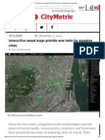 Interactive Sound Maps Provide New Tools for Mapping Cities _ CityMetric