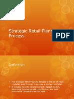 Strategic Retail Planning Process