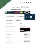 Nibiru, Planeta x y Hercólubus en El Rincón de Dorado - Inymis