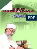 Shaykh-ul-Islam Dr Muhammad Tahir-ul-Qadri - A Profile (ENGLISH)