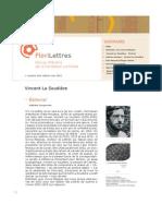 FloriLettres n° 164 - Vincent La Soudière