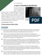 Como Aprender a Usar o Autodesk AliasStudio _ EHow Brasil