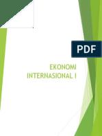 Ekonomi Internasional