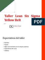 Yellow - Green Belt