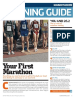 Your First Marathon