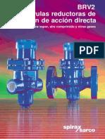 BRV2 Válvulas Reductoras de Presión de Acción Directa Para Vapor-Aire Comprimido y Otros Gases-Catálogos