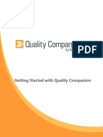 Quality Companion Get Started