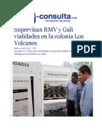 02-06-2015 E-consulta.com - Supervisan RMV y Gali Vialidades en La Colonia Los Volcanes