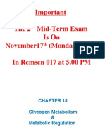 Chapter15 Metabolic Regulation