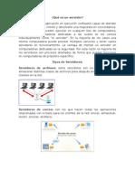 INVESTIGACION DE SERVIDORES. PRIMER PARCIAL