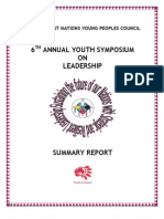 Symposium Report March 2009 Final
