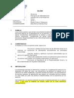 JDLM Silabo Principios Administración