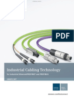 5454*/45Industrial Cabling Technology for Ethernet PROFINET and PROFIBUS