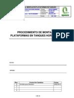 Procedimiento Montaje Plataformas a Tanques Horizontales_ipn