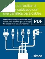 Simon Canaleta Para Cables