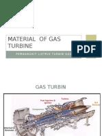 Material of Gas Turbine