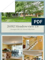 26802 Meadowview Farmington Hills MI   Pleasant Valley Farms Colonial