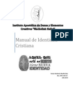 Manual de Identidad Instituto de Danza