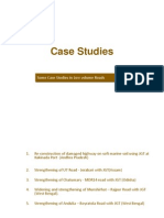 Case Studies on Application Road Construction
