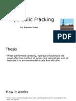presentation hydro fracking