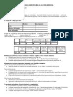 Formularios Para Sistemas de Gestión Ambiental