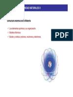 Tema 2. Estructura Atómica de La Materia